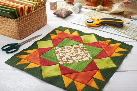 PATCHWORK-QUILT-FABRIC